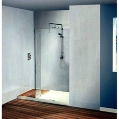 Matki Original Walk-in Recess Shower Enclosure Loft Bathroom, Shower Enclosure, Walk In Shower, Bathtub, Walking, The Originals, House, Image, Ideas