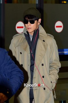 T.O.P @ Incheon Airport Back from Japan - Dec 16, 2013