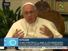 Papa Francisco envía mensaje al pueblo de México previo a su visita - YouTube