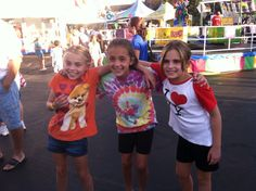 Last month my 2 daughters my sister in law and my neese went to a carnival
