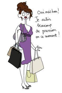 femme et shopping citation - Recherche Google