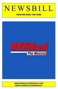 Meh: NEWsical the Musical - Kirk Theatre - 7/20/14