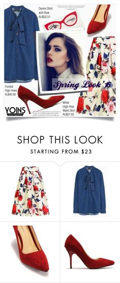 """""""Spring with Yoins."""" by nastyaafanasova ❤ liked on Polyvore featuring Kate Spade"""