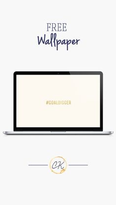 # Goaldigger, gold foil desktop or mobile (iphone or android) wallpaper background free on the blog!