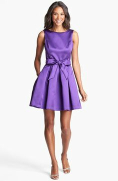 I want this in EVERY COLOR! #IsaacMizrahi is KILLIN IT :D   Isaac Mizrahi New York Mikado Fit & Flare Dress   Nordstrom