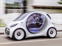 Futuristic Carsharing Concepts : Smart Vision EQ concept