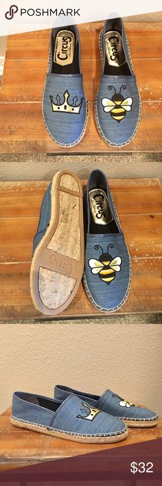 Sam Edelman Queen Bee Espadrilles Who doesn't want to be the Queen Bee?! 👑🐝 New with box. I can't believe I found these! Size 8.5. Perfect condition 👌🏼 Won't last long!💞 Circus by Sam Edelman Shoes Espadrilles