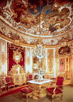 Marie Antoinette's palace, France