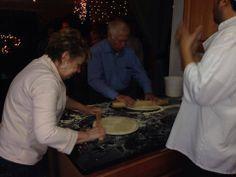 Rolling out the dough! www.affrescopizzeria.com/events