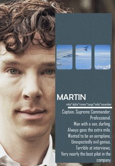 Cabin Pressure Character Labels [4 of 7], Martin inspired by (x)