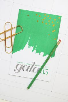 Project: Gala 85 // cute invitation