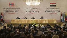 مؤتمر مانحي إعمار غزة بالقاهرة يحصد اكثر من المتوقع ب خمسة  ونصف مليارات دولار