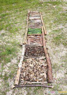 Forest School Activities, Sensory Garden, Easy Easter Crafts, Land Art, Outdoor Fun, Bushcraft, Playground, Ladder Decor, Paths