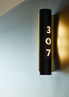 Environmental Design for QT Melbourne Hotel Signage, Office Signage, Retail Signage, Wayfinding Signage, Signage Design, Environmental Graphics, Environmental Design, Toilet Signage, Signage Board