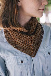 Free Crochet Bandana Cowl Pattern - Cleo Malone