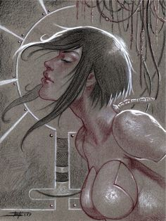 Ghost In The Shell tribute by LucaStrati on @DeviantArt