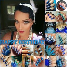 Hello lovelies!! Today is beautiful Natasha's birthday @natasha_dauncey!!! Happy Birthday gorgeous girlie!! Hope it's a great day for you hun!! Awesome Angela @glacewing organised this brilliant blue collage for you along with all these other friends:  @l