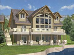 Build your ideal home with this Mediterranean house plan with 3 bedrooms(s), 3 bathroom(s), 2 story, and 3717 total square feet from Eplans exclusive assortment of house plans.