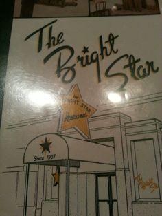 Great historical restaurant with best Greek Food around Birmingham, AL...The Bright Star Restaurant in Bessemer, AL