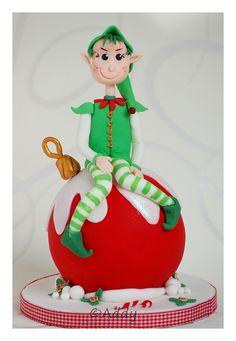 Christmas alf figurine