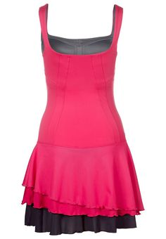 Layered tennis dress