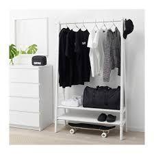 Spänst Clothes rack white 139pounds Width:115 cm Depth:40 cm Height:170 cm