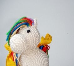Rattles & Teething Toys – Horse. Baby toy. Rattle. Little pony – a unique product by MiracleFromThreads on DaWanda