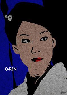 Kill Bill  O-Ren Ishii @ Lucy Liu  manoeye 2012