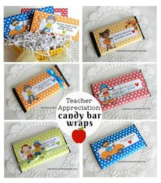 It's Written on the Wall: Teacher Appreciation Gift---End of Year Hershey Candy Bar Wraps-So Sweet! Teacher Appreciation Gifts, Teacher Gifts, Chocolate Gifts, Giant Chocolate, Hershey Candy Bars, Neighbor Christmas Gifts, Staff Gifts, Presents For Teachers, Candy Bar Wrappers