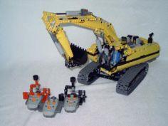 Modified LEGO Excavator (#8043)