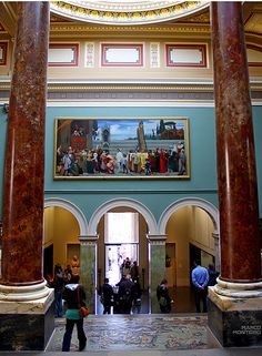 national gallery. london. england. britain. great britain. united kingdom.