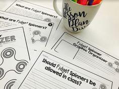 Fidget Spinner Craze! - The Lesson Plan Diva