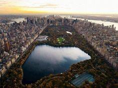 Central Park, el pulmón de Nueva York. pic.twitter.com/euAUfuc4sY