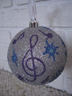 Customized Christmas ornaments with name on other side. Any picture or design requested.