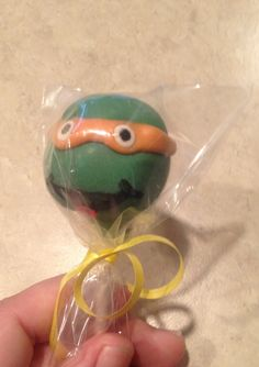 Teenage mutant ninja turtles cakepop/possible valentine