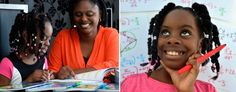 "Ten-year-old Esther Okade and her mother, Efe (Birmingham Mail). Esther started in January as a freshman at the distance learning college Open University, making her one of the youngest college students in England. ""I actually wanted to start when I was seven,"" she told CNN. ""But my mum was like, 'you're too young, calm down.'"" She is working on a algebraic workbook for kids, wants her PhD in Finance by 13 and to become a banker at 15. She is now enrolled in college level math."
