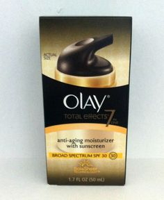 Olay Total Effects Anti-Aging Moisturizer With SPF 30 #Olay