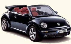 VW New Beetle w/ convertible - is so on my want list!!