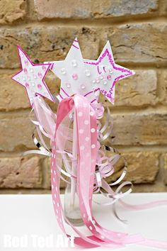 princess party craft u2013 make your own wand