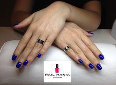 Electric cobalt - Mollon Pro colour by Salon Nail Mania Warszawa ul. Sienna 72A lok.09 tel. 603-819-755