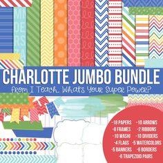 Charlotte Jumbo Set.