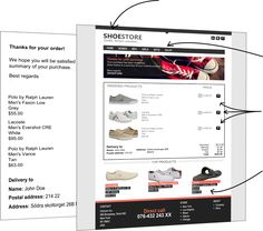 transactional email design inspiration Email Design Inspiration, Lacoste Men, Confirmation, Abandoned, Cart, Ship, Left Out, Covered Wagon, Ships