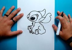 Como dibujar a Stitch paso a paso - Lilo y Stitch | How to draw Stitch - Lilo & Stitch - YouTube Lilo Y Stitch Dibujo, Lilo Stitch, Lilo And Stitch Ohana, Amazing Halloween Makeup, Stitch Drawing, Learn Art, Creative Pictures, Step By Step Drawing, Disney Drawings