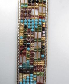 loom beading-been itching to try loom beading, even have 2 vintage looms!