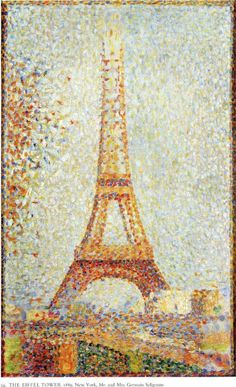 The Eiffel Tower, 1889  George Seurat