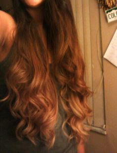 Long Ombre Hair - the hair I want!!!!