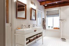 Sisustus  - Kylpyhuone - Maalaisromanttinen
