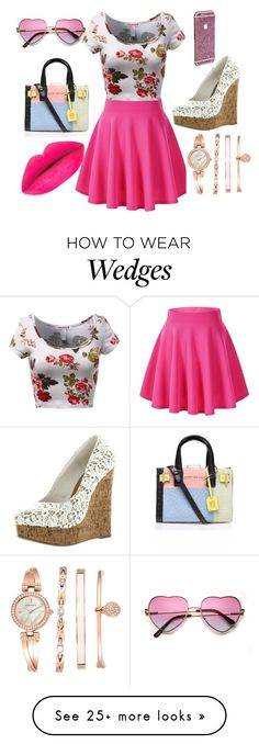 """""""Untitled #13"""" by jrmurillo on Polyvore featuring Kurt Geiger, Anne Klein, women's clothing, women, female, woman, misses and juniors"""