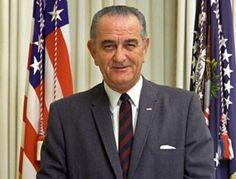 1964 novembre - Stati Uniti - confermato alla carica di presidente Lyndon Johnson.