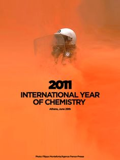 2011 |  International year of Chemistry by Dimitris Kanellopoulos, via Behance